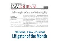 National law journal litigatior of month