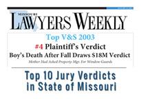 Missioiuri weekly top 10 verdicts