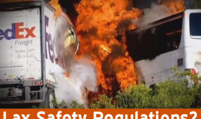 Lax safety regulations problem in many bus accident cases