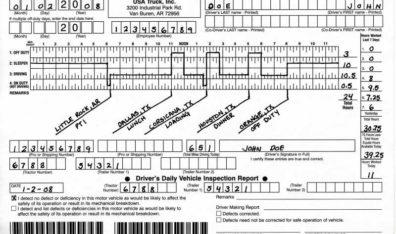 Falsified trucker logbooks: deadly Illinois truck accident kills 4