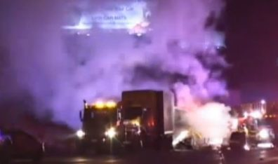 Truck driver claims falsified truck driver logs due to company pressure