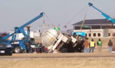 Truck driver fatigue could be behind recent tanker truck accident, spill