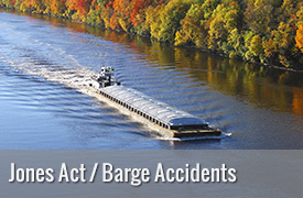 Barge Accident and Jones Act Lawyer