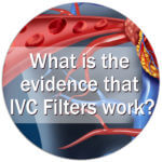 What is the evidence IVC work